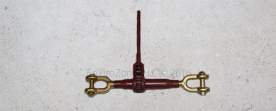 Clevis to clevis ratchet binder from EnviroZone