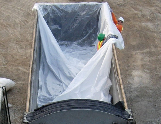 Poly sheeting and poly liners from envirozone