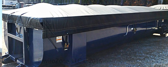 Click to learn more about tarps and covers from EnviroZone in USA