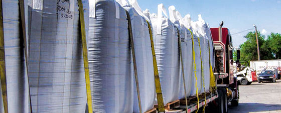 FIBC bulk bags from EnviroZone in the USA offer easy storage for transport