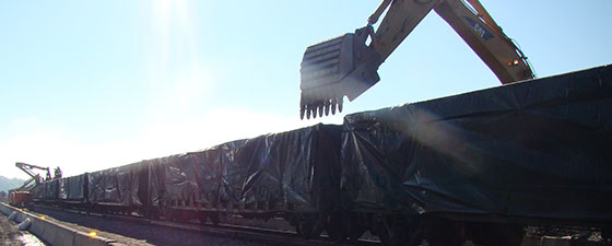 Poly liners for the demolition industry in Louisiana