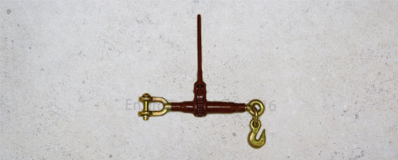 Clevis to hook ratchet binder from EnviroZone